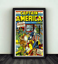 11x17 Captain America Comics #1 Comic Book Cover Replica Poster Print Marvel WW2