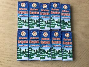 Christmas crayons Pack Of 5 Fun For All