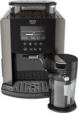 Cafetera Superautomática Krups Quattro Force Arabica Latte EA819E, 15 Bares