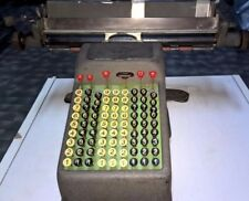 ADDO MOD.7E ADDIZIONATRICE CONTABILE del 1928 ANTIQUE CALCULATOR MADE IN SWEDEN