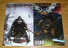 IIXII the Continuum #1-2 VF/NM complete set based on online game - signed!