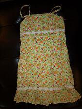 Lilly Pulitzer Adjustable Strap Sundress Dress Strawberries Oranges Cherry 10 EC