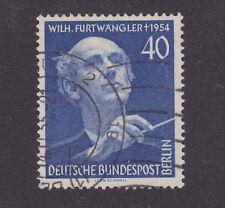 Germany Berlin 9N115 used. 1955 40pf Wilhelm Furtwangler, VF
