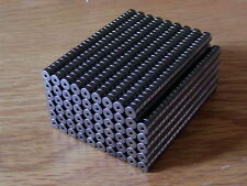 25 Dark-Plated Rare-Earth Magnets, 1/4