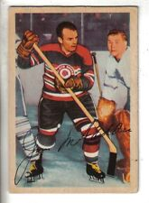 1953-54 Parkhurst Hockey Card #77 Jim McFadden Chicago Black Hawks VG.