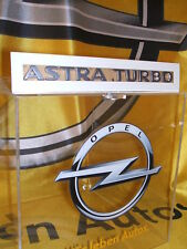 "Original Opel Schriftzug Aufkleber "" ASTRA TURBO "" Neu 177461"