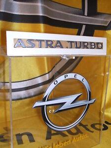 "Original Opel Schriftzug Aufkleber "" ASTRA TURBO "" Neu 177461 / 93190618"
