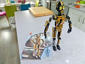 Lego Technic Star Wars 8007 C-3PO USED