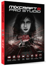 New Acoustica MIXCRAFT 8 Pro Recording Studio Windows (Mac in Bootcamp Mode)