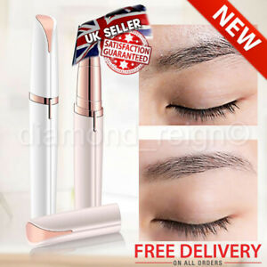 New Women's Flawless Brows Facial Hair Remover Electric Eyebrow Trimmer Epilator