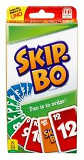 SKIP BO Card Game Ultimate sequencing game w 162 cards Instructions New