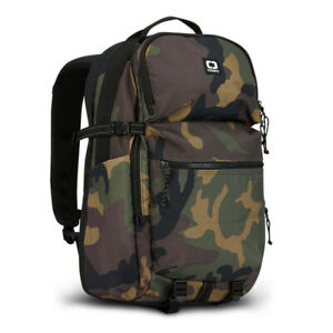 """New OGIO Compact Camo Shoulder 15"""" Laptop Backpack with Tablet Sleeve"""