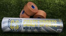 (New Formula)Professional Rigid 38mm strapping Tape TAN- 96 ROLLS- Free postage