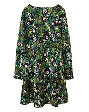 Botanical Swing Tunic Size Uk 20 LS170 KK 04
