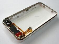 Nueva Cubierta Trasera Iphone 3g 3gs carcasa con marco de metal y Flex, Color Blanco