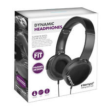 InTEMPO EE1264 dinamico Over-Ear Cuffie Nero