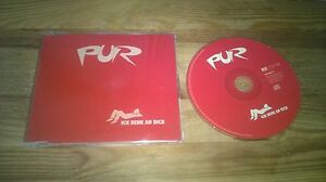 CD Pop Pur - Ich denk an Dich (1 Song) Promo EMI MUSIC sc
