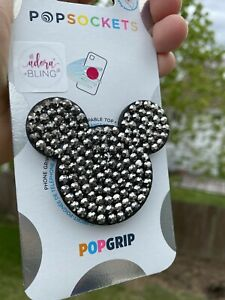 NEW Authentic Bling Rhinestone PopSocket Disney Inspired Mouse iPhone Android