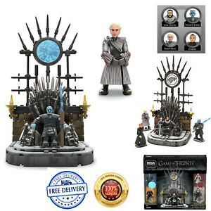 Mega Construx Game Of Thrones The Iron Throne Action Playset NEW