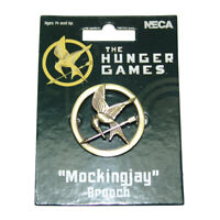 The Hunger Games Mockingjay Pin Katniss Everdeen Cosplay Prop Brooch Badge NECA