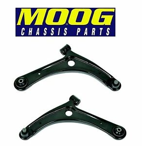 For Dodge Caliber Jeep Compass Patriot Pair Set Of Front Lower Control Arms Moog
