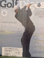 Golf Digest Magazine Tiger Woods Tips Driving May 2007 SEALED 121617nonrh