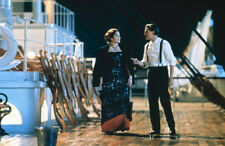 Titanic 35mm film slide Leonardo Di Caprio Kate Winslet on deck