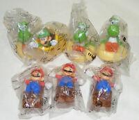 Lot de 7 jouets MARIO Bross NINTENDO cadeau Mc Donald's HAPPY MEAL NEUF MCDo