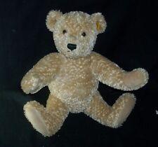 STEIFF 990748 SITTING HUMP BABY TEDDY BEAR STUFFED ANIMAL PLUSH TOY GOLD TAG EAR