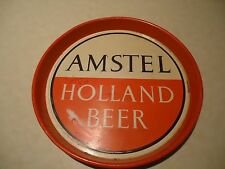 AMSTEL BEER TIN SERVING TRAY