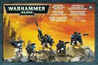 Games Workshop Warhammer 40K Space Marine Scout Squad with Sniper Rifles