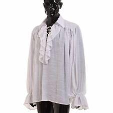 Renaissance Men's OR Women's Poet Pirate Vampire Shirt Blessume Medieval Costume
