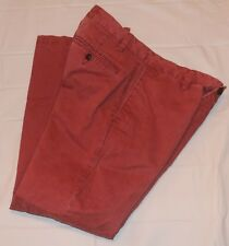 Men's Pants Docker's Burnt red color 32 X 30 Cotton Flat Front Dockers 32X30