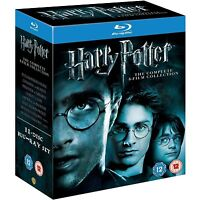 Harry Potter The Complete 8 Film Collection Blu-ray 11 Disc DVD BOXSET BRAND NEW
