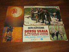 FOTOBUSTA, 1976 DERSU UZALA IL PICCOLO UOMO DELLE GRANDI PALUDI AKIRA KUROSAWA
