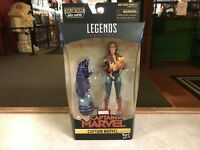 "(DMG) Marvel Legends Captain Marvel BAF Kree Sentry 6"" MOC CAPTAIN MARVEL +GOOSE"