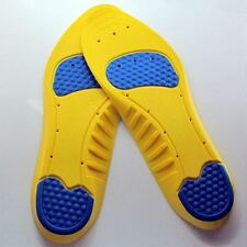 Gel Orthotic Outdoor Sport Running Insoles Insert Shoe Pad Arch Support Heel