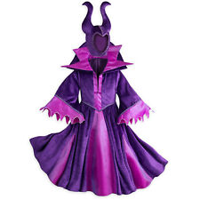 NWT Disney Store Sz 13 MALEFICENT Costume Dress Horns Teen Girls NEW