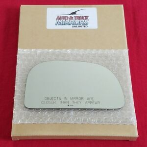 Mirror Glass + Adhesive For Dodge Colt, Eagle Summit Passenger Side Replacement