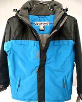 Turbine Boy's Orion Winter Ski Snowboard Jacket Fiji Blue & Black 5Kmm WPB