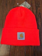 fb8d5977887 NEW Men €™s Carhartt A18 Winter Hat Bright Orange One Size
