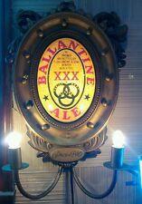 Vintage Beer Advertising Bar Sign Lighted Ballantine ALE XXX BEER Hang Wall BG