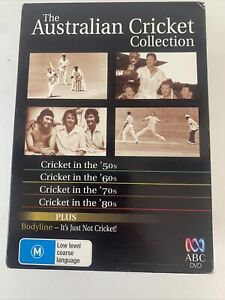 THE AUSTRALIAN CRICKET COLLECTION, PLUS BODYLINE – IT'S JUST NOT CRICKET! – DVD