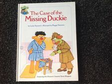 The Case of the Missing Duckie SESAME STREET Vintage children's books 1980