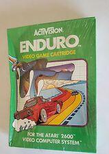 NEW FACTORY SEALED ENDURO  GAME W/CREASE FOR  ATARI 2600  USA NTSC VERSION