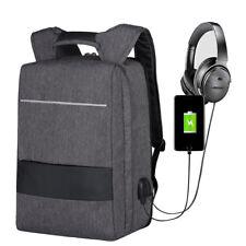 17 Zoll Notebooktasche Rucksack Backpack Laptop Tasche mit USB Ladeanschluss