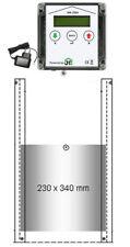 JOSTechnik automatische Hühnerklappe HK-ZSU + Schaltuhr, Hühnerklappe 230x340 mm