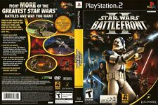 Star Wars: Battlefront II Sony PlayStation 2 PS2 COMPLETE BLACK LABEL Game TWO 2