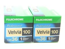 2 x FUJICHROME VELVIA 100 35mm 36 EXP CHEAP SLIDE FILM by 1st CLASS ROYAL MAIL