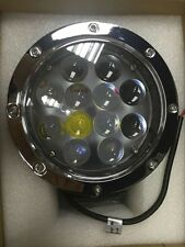 """CREE 60w Led Work Light Bar Spot Beam Round Fog Lamp 7"""" Silver Truck Offroad 4WD"""
